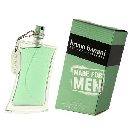 Toaletní voda Bruno Banani Made For Men, 75 ml