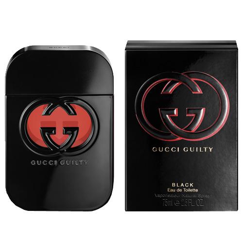 Toaletní voda Gucci Guilty Black, 75 ml
