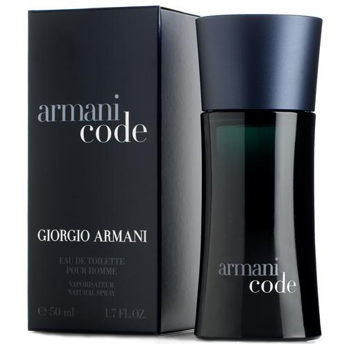 Toaletní voda pro muže s rozprašovačem Giorgio Armani Armani Code, 50 ml