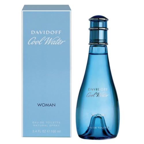 Toaletní voda Davidoff Cool Water Woman, 100 ml