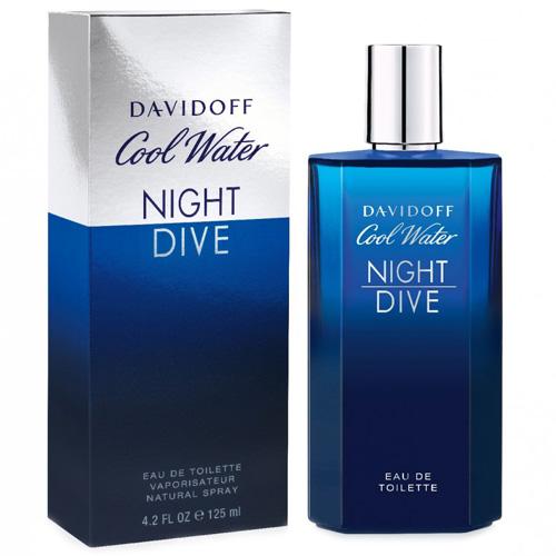 Toaletní voda Davidoff Cool Water Night Dive, 125 ml