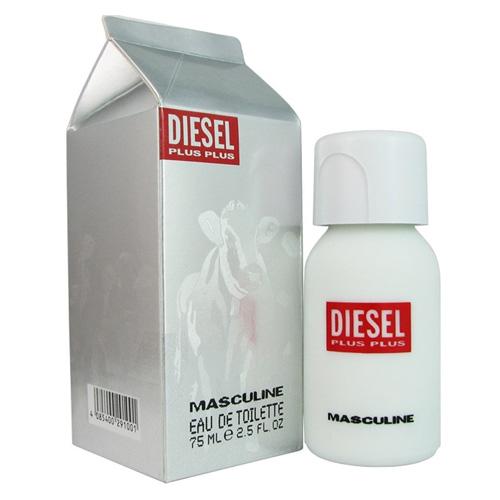 Diesel Plus Plus Masculine - toaletní voda s rozprašovačem 75 ml