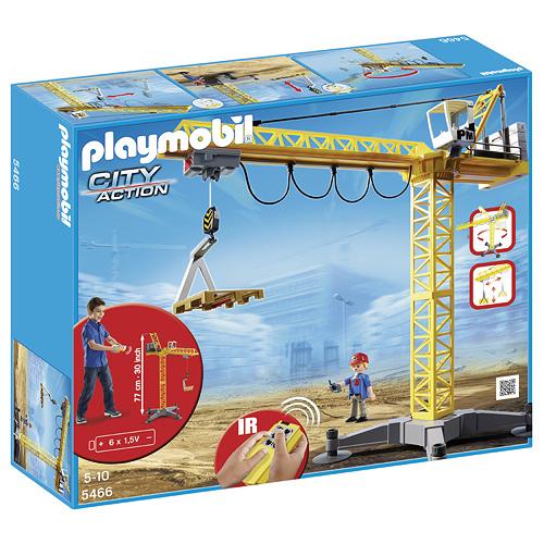 Velký jeřáb Playmobil Velký jeřáb na IR ovládání