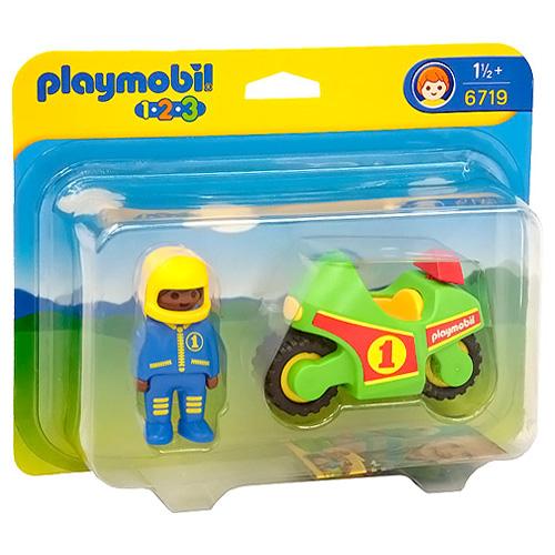 Motorka Playmobil Motorka (1.2.3)