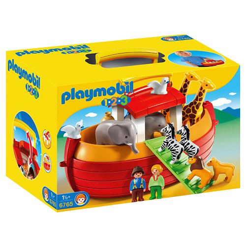Noemova archa Playmobil Přenosná Noemova Archa 1.2.3
