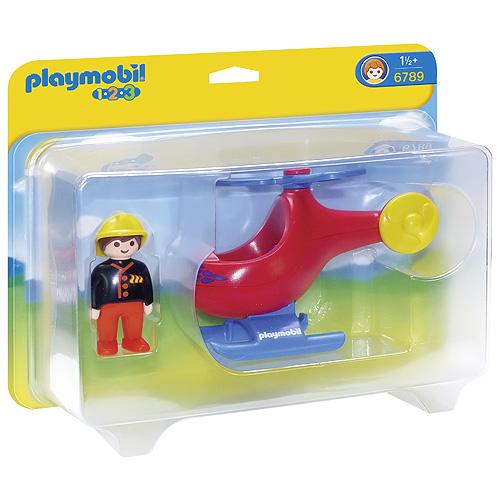 Požární helikoptéra Playmobil