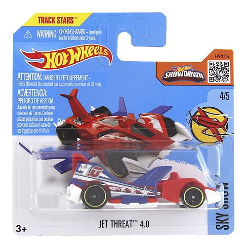 Angličák Hot Wheels Mattel Jet Threat, s křídly