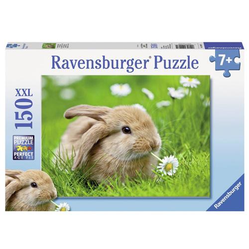 Puzzle Ravensburger Zlatý králík, 150 dílků XXL