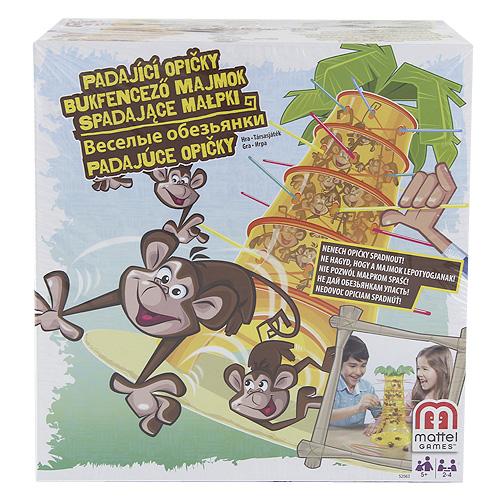 Stolní hra Mattel Padající opičky