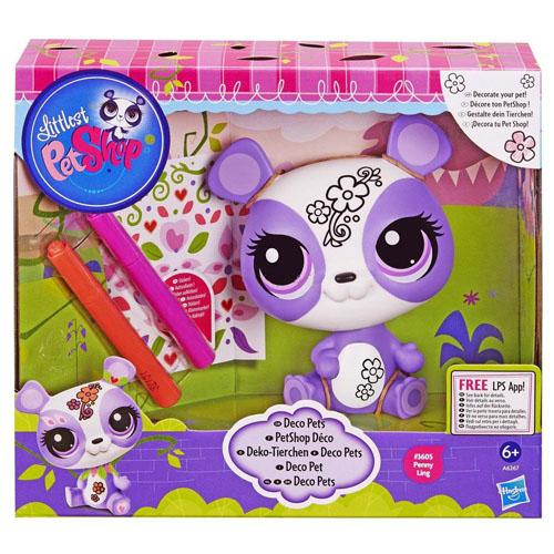 Zvířátko Littlest PetShop Hasbro Penny Ling, fialová