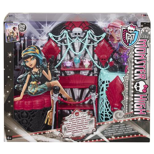 Monster High nábytek Mattel Šatna hvězdy