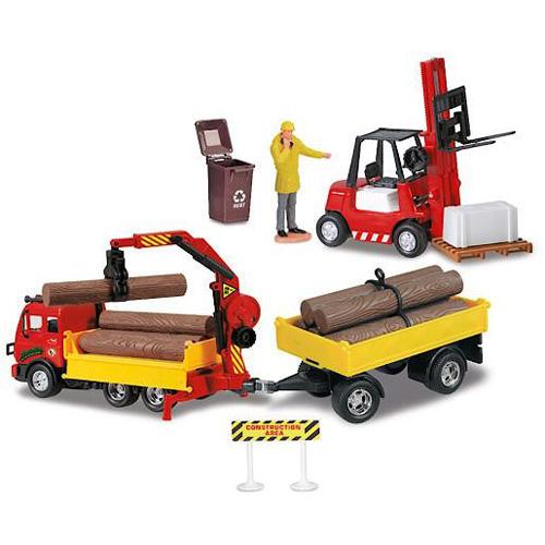 Servisní tým Dickie Vůz, návěs, vozík a figurka