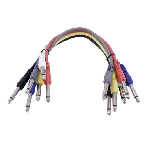 Propojovací kabel Omnitronic Délka 6x 60 cm