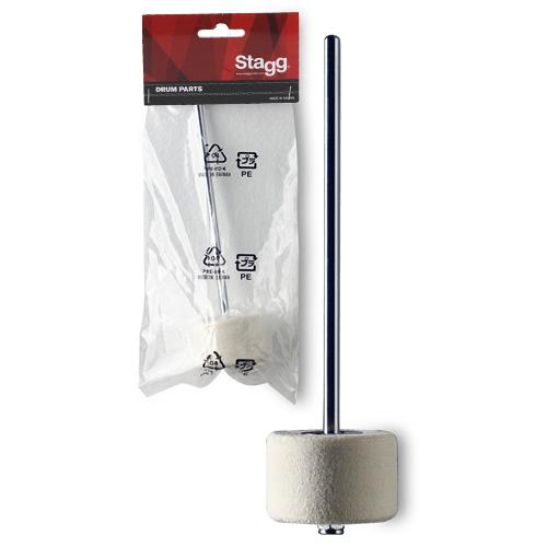 Úderník Stagg tvrdý filc, pro basový buben