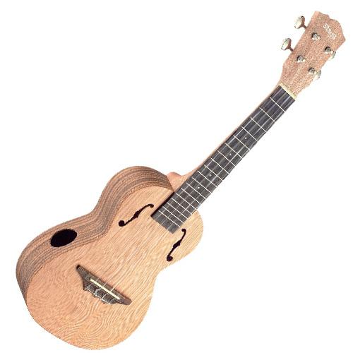 Koncertní ukulele Stagg Včetně pouzdra - barva přírodní, lesklý lak