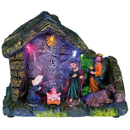 Vánoční betlém Idena vánoční, rozměr 14 x 12 x 6 cm