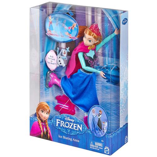 Panenka Disney Mattel Krasobruslařka - princezna Anna série Disney