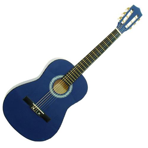 Klasická kytara Dimavery typu 3/4, modrá