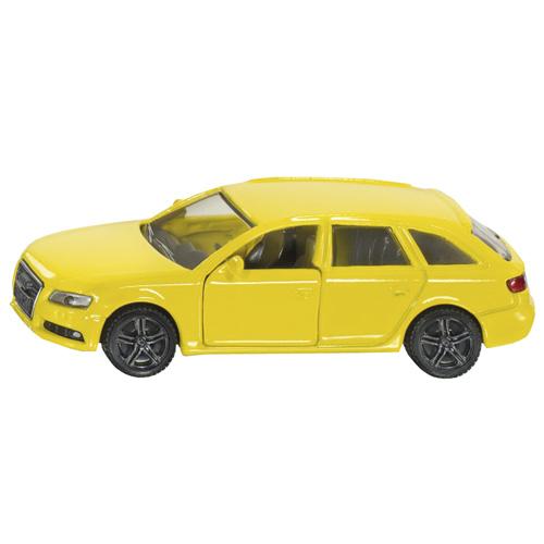 Osobní auto SIKU Audi A4 Avant, žlutý