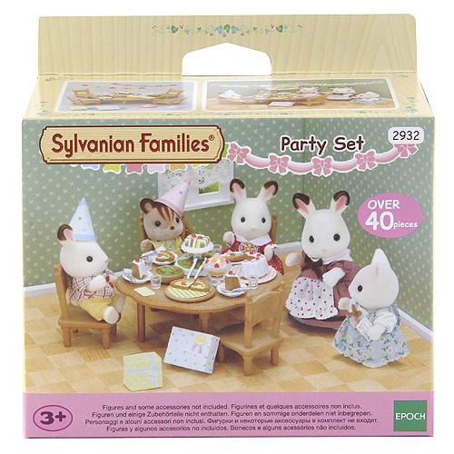 Sylvanian family Párty set Sylvanian Families 40 dílků