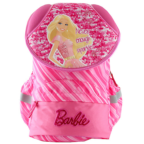 Školní batoh Barbie nápis Never enough sparkle
