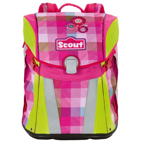 Školní batoh Scout / Sunny, motiv květin