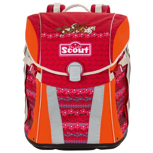Školní batoh Scout Sunny, motiv 3 koníci