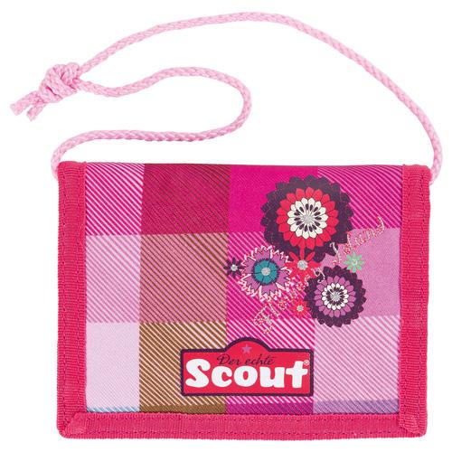 Peněženka s poutkem Scout Scout Brustbeutel II Flowery