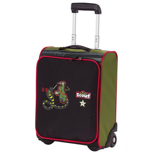 Dětský kufr trolley Scout Scout Kindertrolley Ninja Sna