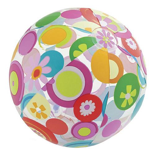 Nafukovací míč Intex Kolečka