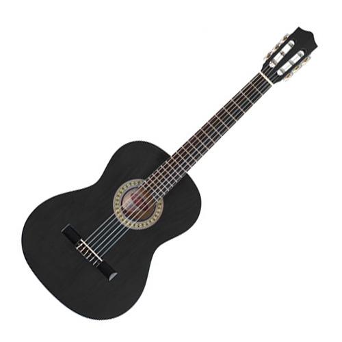 Klasická kytara Stagg Velikost 1/4 - barva černá, lesklá