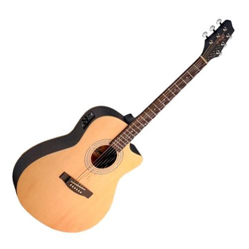 Elektro-akustická kytara Stagg Typ Auditorium