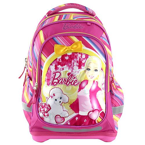 Školní batoh Target Panenka Barbie/růžový