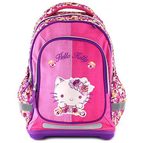 Školní batoh Target Hello Kitty, květinový vzor