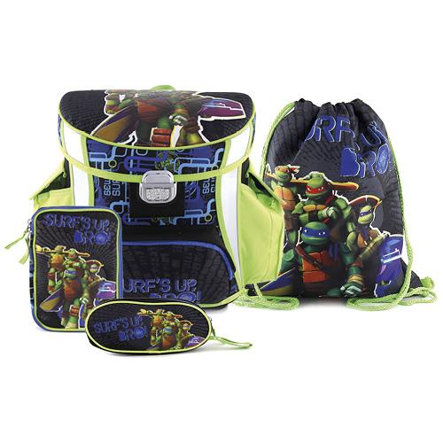 Školní set Target Ninja želvy, barva modro-zelená, doprava zdarma