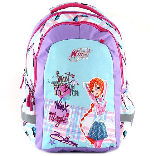 Školní batoh Target Winx Magic, zeleno/fialový