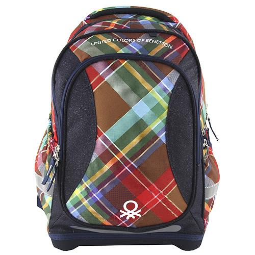 Školní batoh Target Benetton, barva tmavě modrá