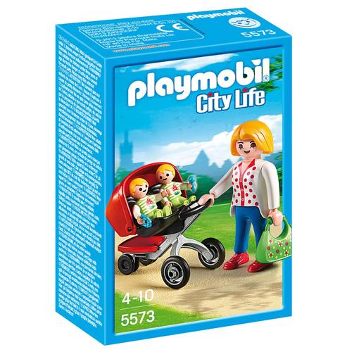 Kočárek pro dvojčata Playmobil Mateřská škola