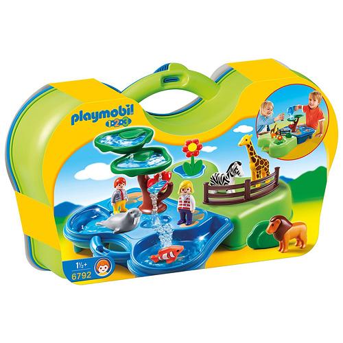 Vodní koutek v zoo Playmobil Přenosný vodní koutek v ZOO (1.2.3.)