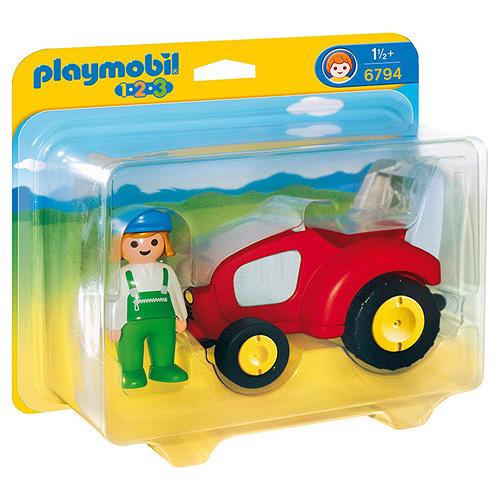 Traktor Playmobil Traktor (1.2.3.)