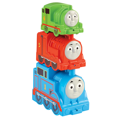 Skládačka mašinky Mattel 3 ks