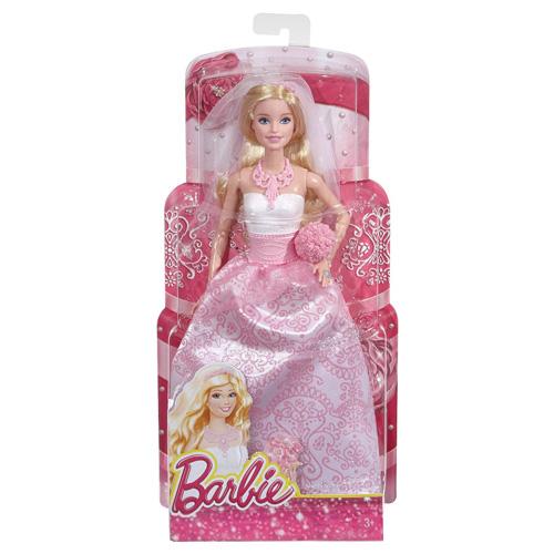 Barbie nevěsta Mattel Svatební šaty