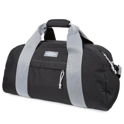 Cestovní taška Eastpak Černá/šedé popruhy
