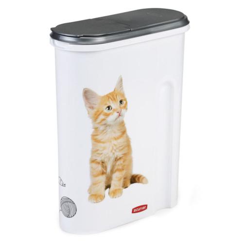 Curver Kontejner na 1,5kg suchého krmiva - KOČKY - Pro snad né uskladnění a dávkování suchého krmiva pro domá