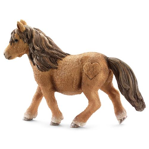 Shetlandský poník Schleich Koně