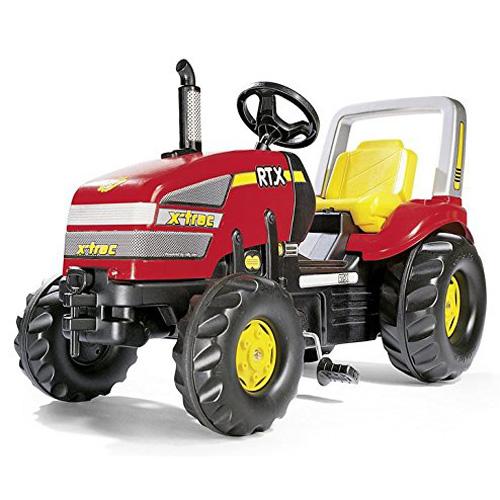 Šlapací traktor Rolly toys X-Trac, červený, doprava zdarma