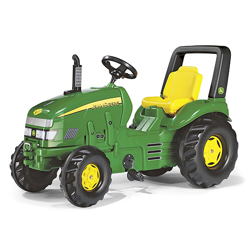 Šlapací traktor Rolly toys X-Trac John Deere, zelený, doprava zdarma