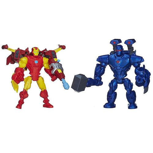 Figurky Avengers Hasbro Iron Man a Iron Morgen, 17 cm