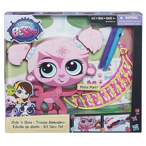 Zvířátko Littlest PetShop Hasbro Minka Mark, růžová