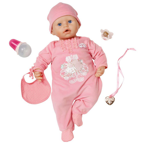 Panenka Baby Annabel Zapf Interaktivní, 46 cm